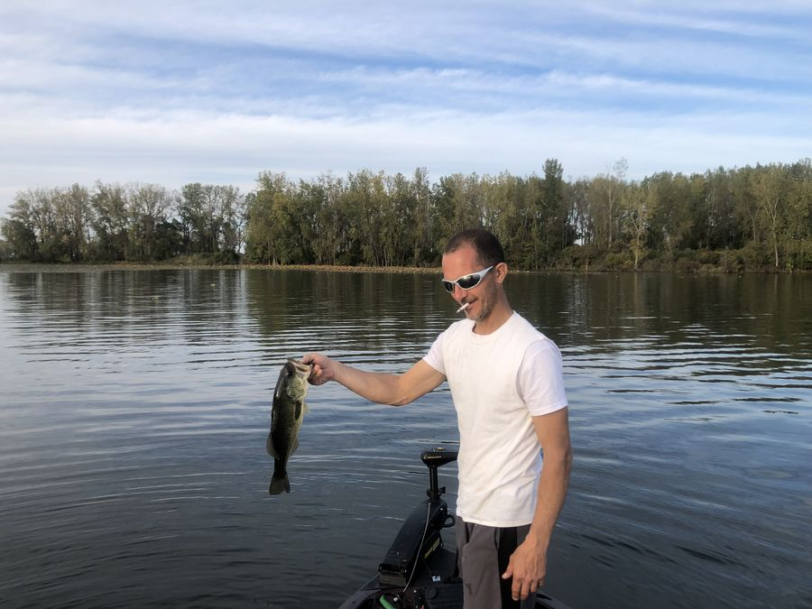 Buddies best of day.  He's looking for the 5lb+ bi...