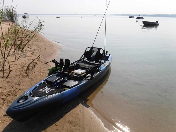 calm waters - my favorite fishing condition when k...